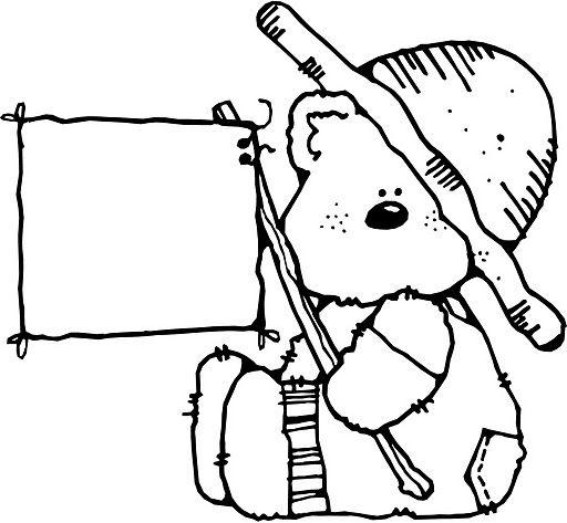 dibujos ideia criativa dibujos ursinhos pra colorir