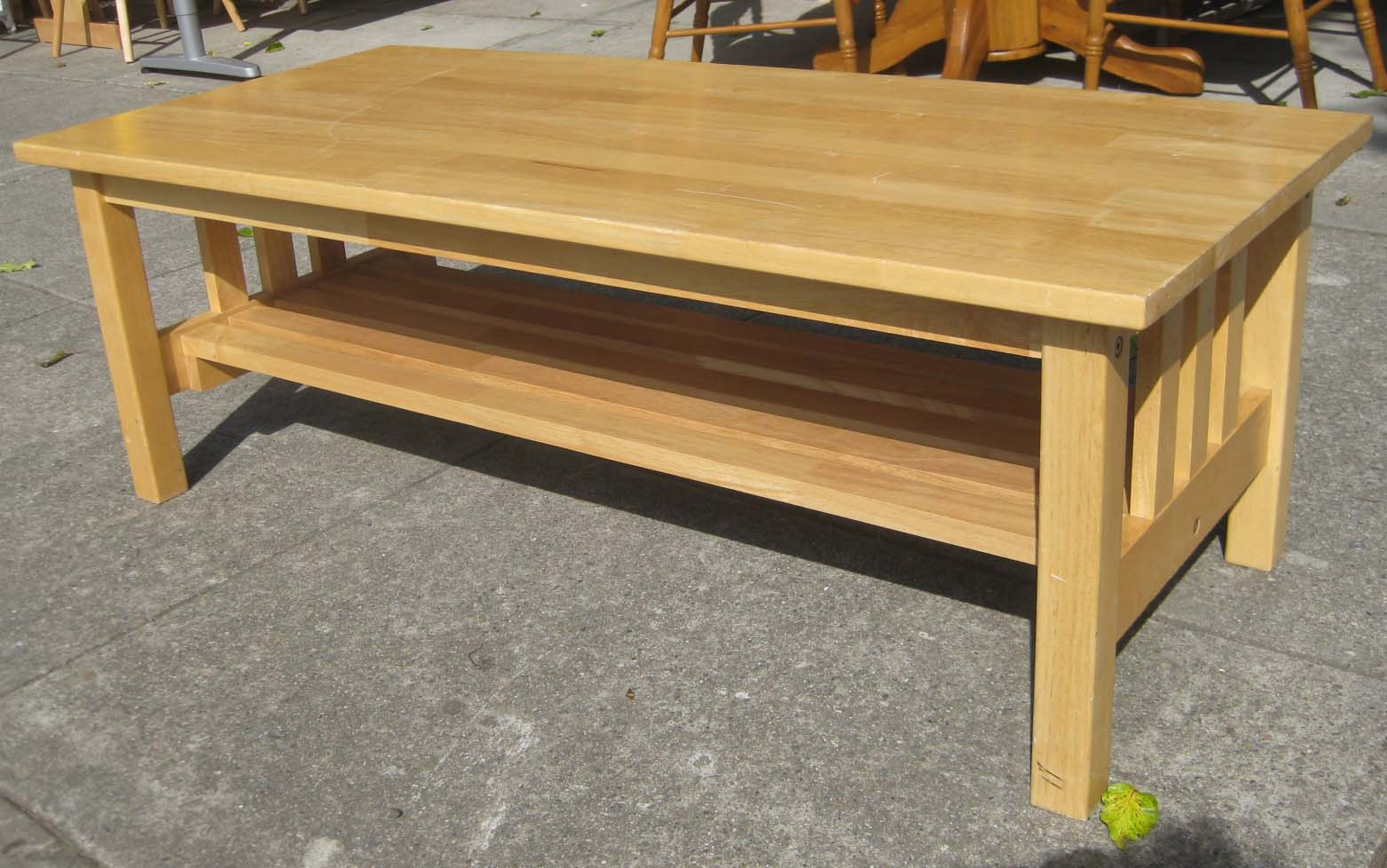 Uhuru Furniture Collectibles Sold Ash Coffee Table 40