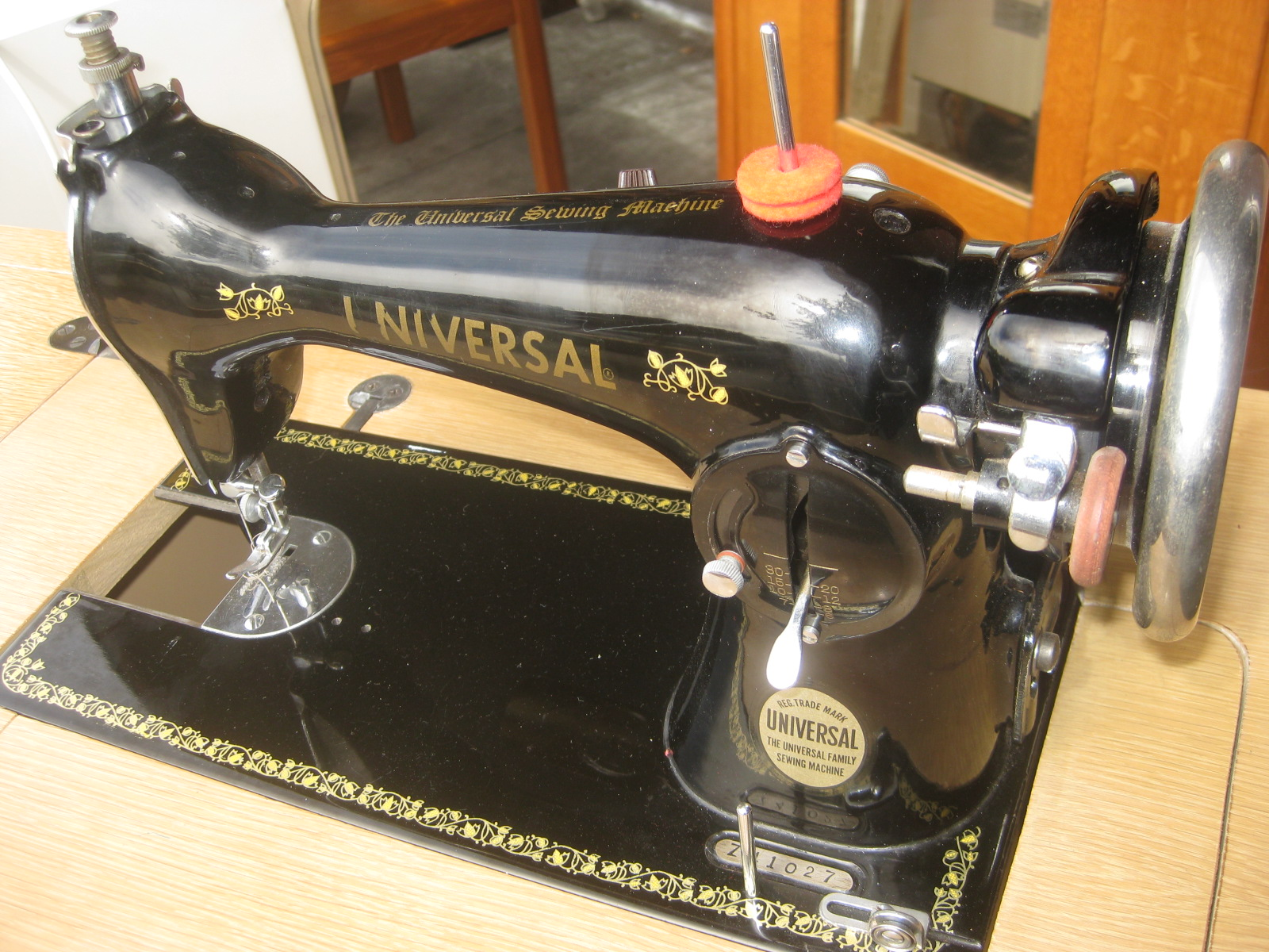 universal sewing machine part list