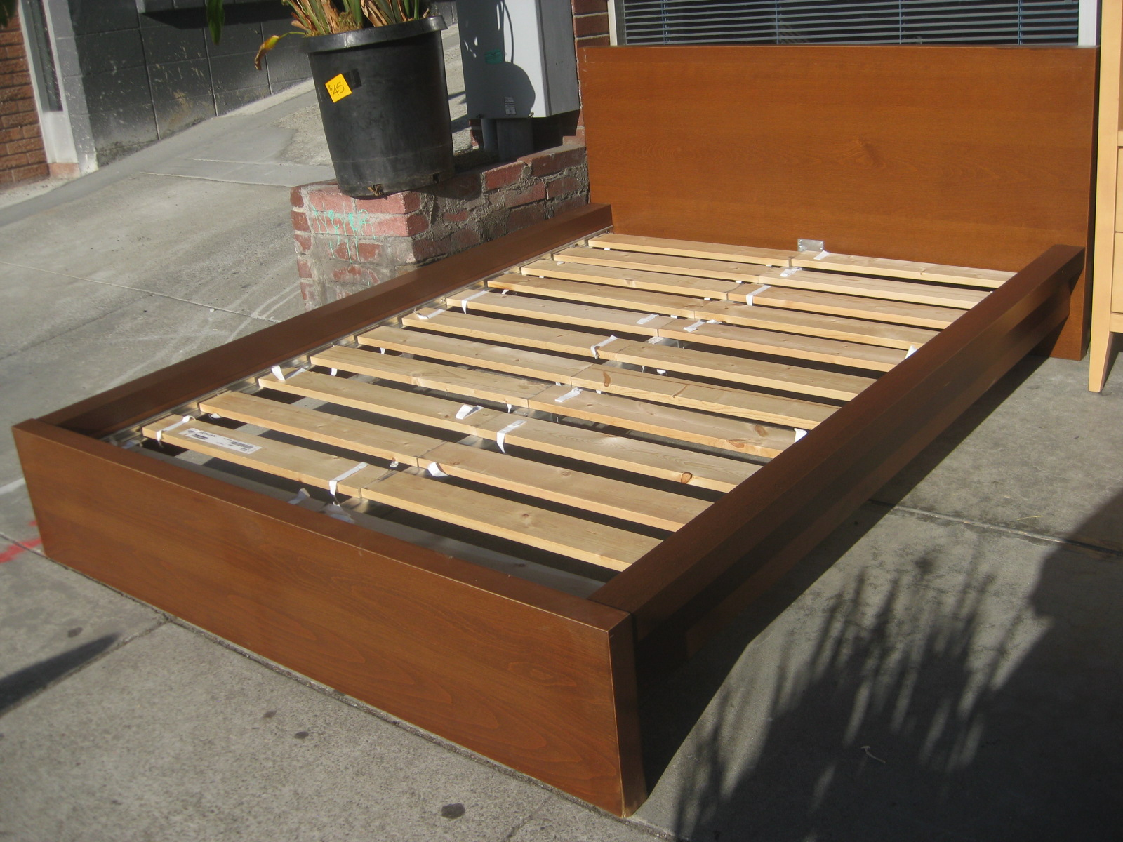 UHURU FURNITURE & COLLECTIBLES SOLD Full Ikea Malm Bed Frame $80