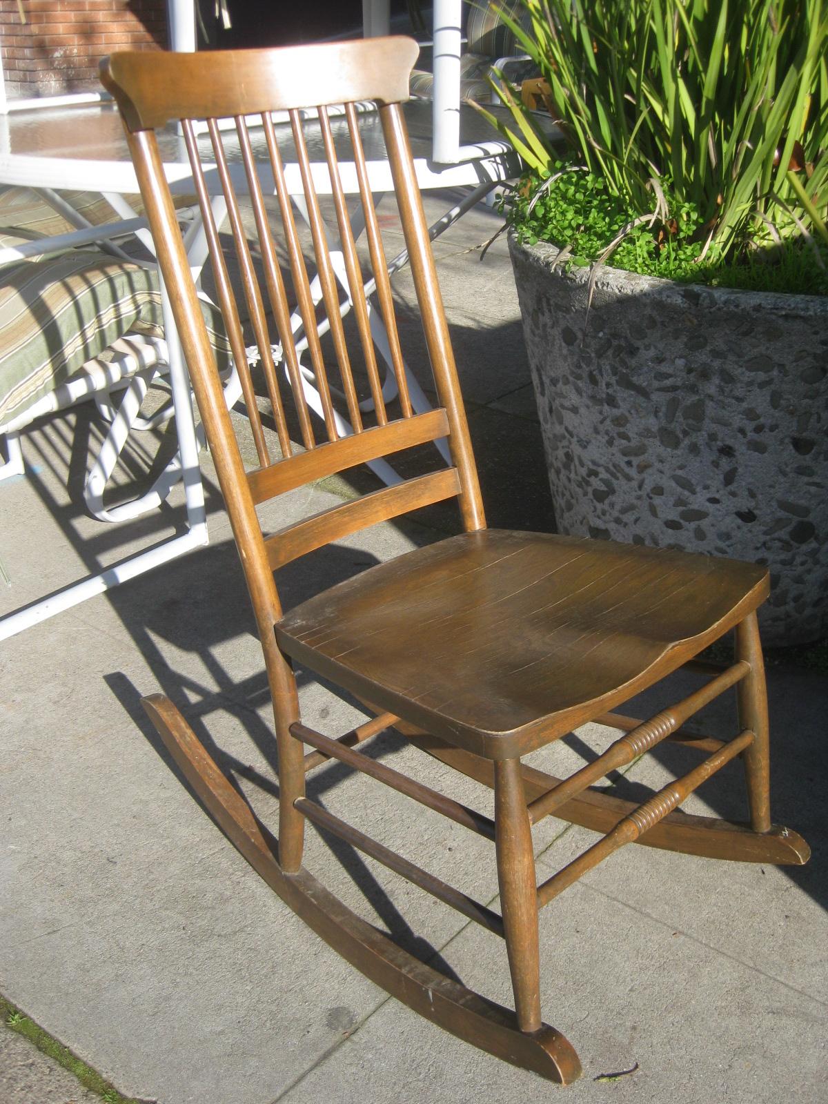 Rocking Chair Broken Spindle Child S
