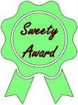 I got a sweetie award!
