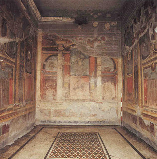 four styles roman wall painting incrustation style archite A mau, a german scholar, established four distinct styles of roman wall painting at the sites of pompeii, herculaneum, bosco real, and other smaller.