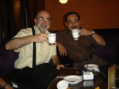 Tomando el kopi luwak en Yakarta