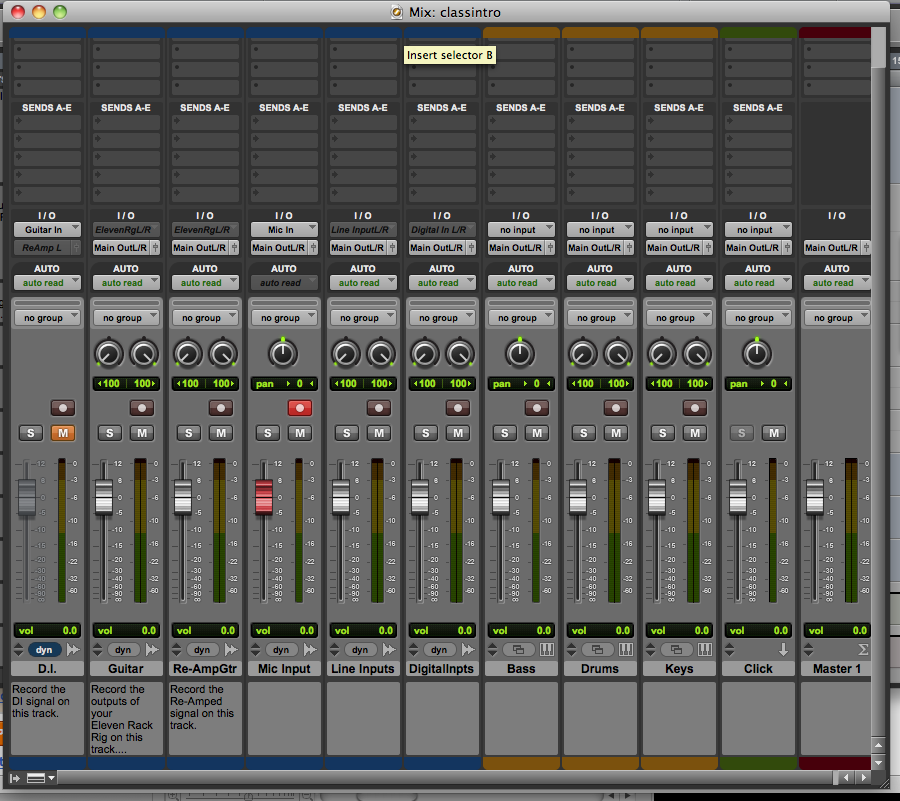Digital Pathways Audio A: Introduction to Pro Tools