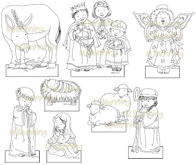 Download image Nativity Paper Cut Outs PC, Android, iPhone and iPad ...