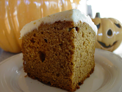 Pumpkin Spice Loaf Cake With Cream Cheese Filling