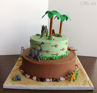 Dinosaur Cake Decorating Ideas