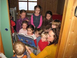 kjeft i barnehagen