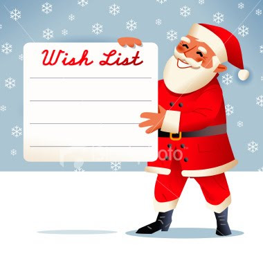 with only about 4 weeks till christmas its always nice to get exactly what you want this year we are doing wish lists to fill