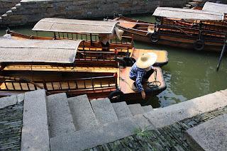 Tongli boats
