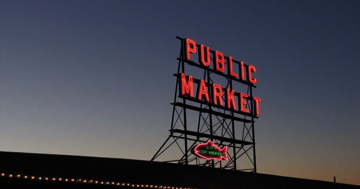 13.7: To Pike Place Market!