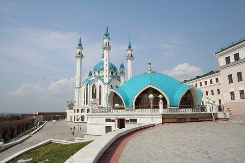 Ngabuburit ke Masjid Soekarno di Rusia