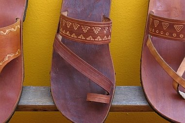 Hand craft your own sandals