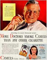 Sigarette, pubblicità, medici americani, ama