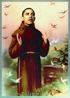 obama, santificato