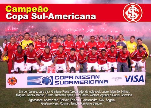 CAMPEÃO SUL AMERICANO - 13/12/2008