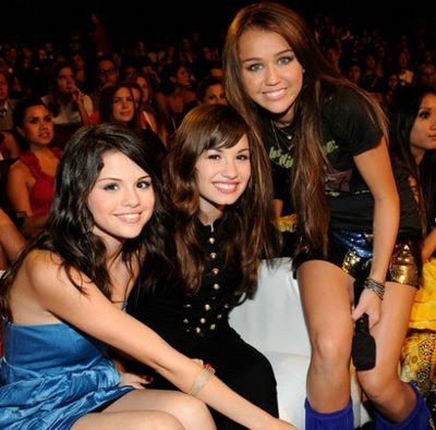 taylor swift and selena gomez and miley cyrus