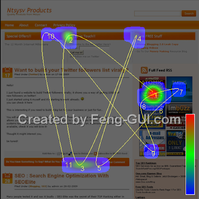 website feng shui