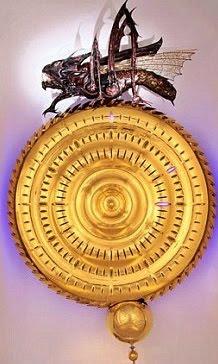 chronophage corpus clock