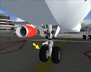 nose wheel