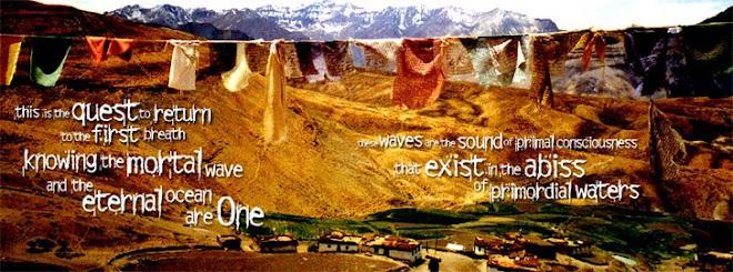 grafikatomica tibetan buddhist village