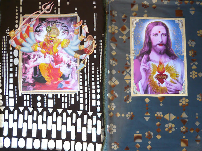 pop mystic divinities; sacred heart & narasimbha avatara