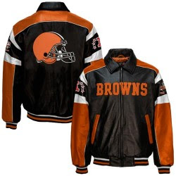 Purchase Your Browns Leather Jacket Today!