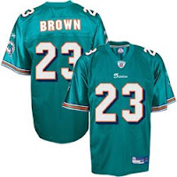 Purchase Your Dolphins Ronnie Brown Jersey Today!