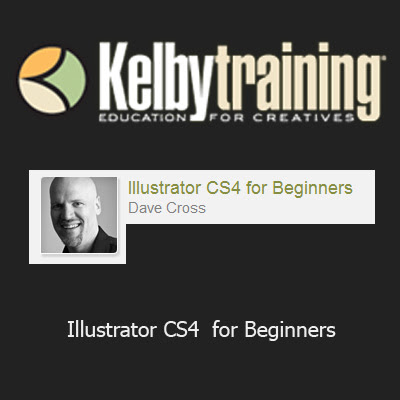 Kelby Training - Illustrator CS4 for Beginners (1 cd)