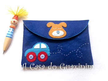 Bolsa para Documentos postada no Cuteable!