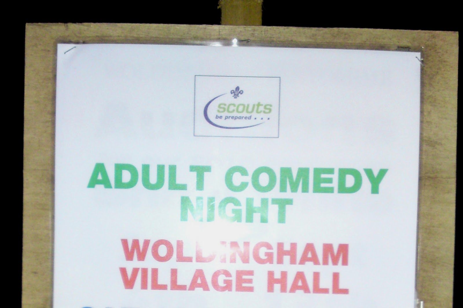 Be prepared: Woldingham scouts do adult comedy
