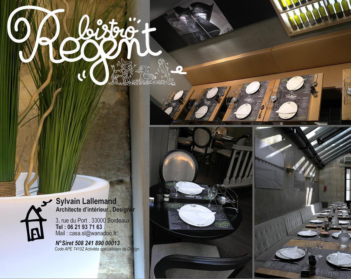 creation du bistro regent. Black Bedroom Furniture Sets. Home Design Ideas