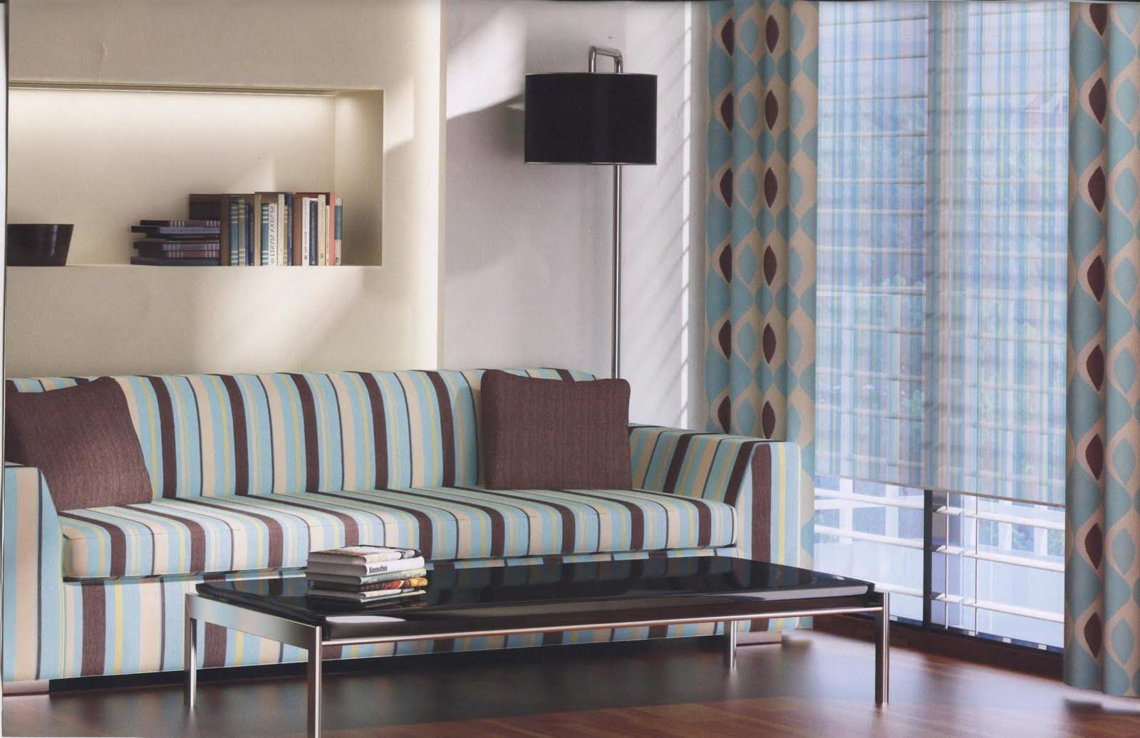 Decoracion cortinas y ropa de hogar salon - Decoracion de cortinas para salones ...
