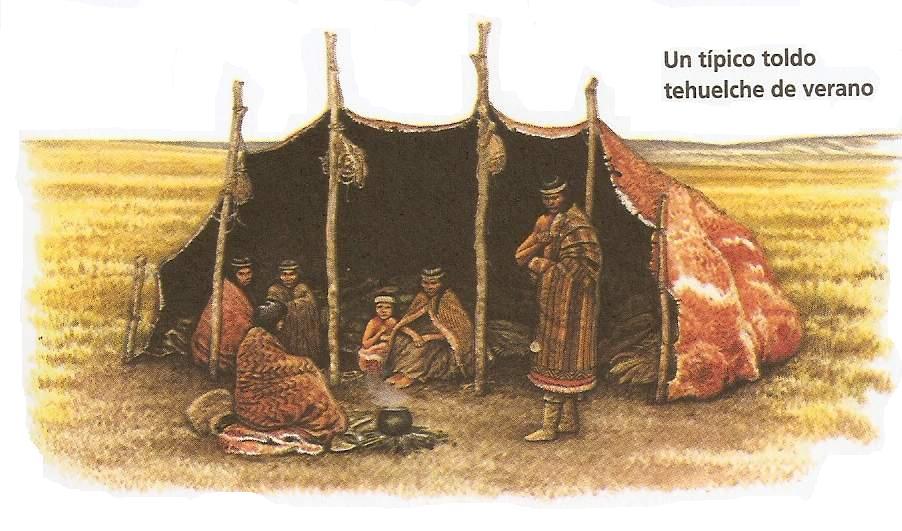 vivienda de los tehuelches: