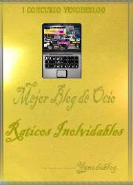 Premio Mejor Blog de Ocio