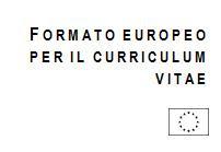 CV Europeo: Curriculum Vitae Formato Europeo