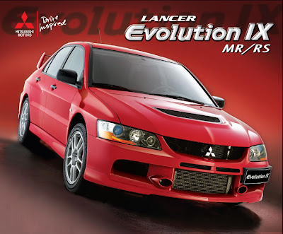 The Mitsubishi Lancer Evolution IX