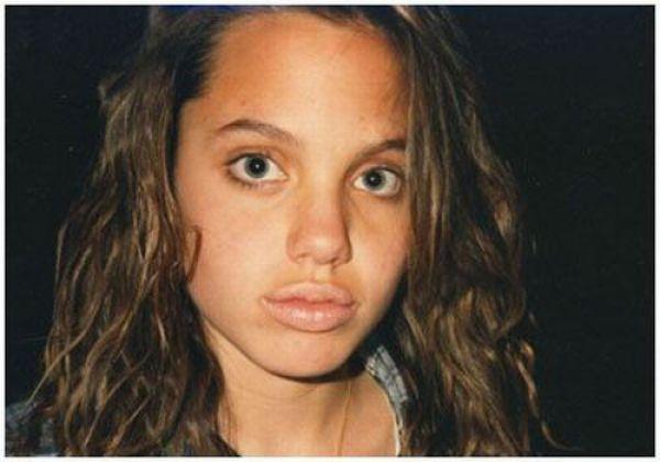 angelina jolie 16 years old. 13/16 years old