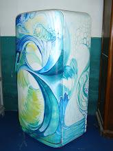 Heladera surfera