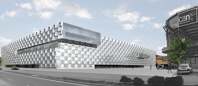 Proyectosinergias reyno de navarra arena - Arquitectos en pamplona ...