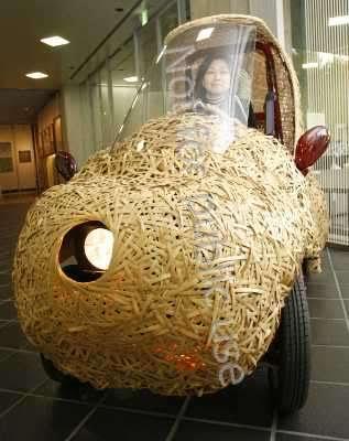 car Bamboo