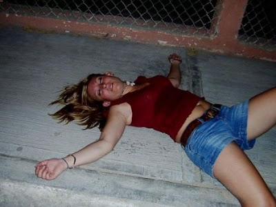photo drunk girl