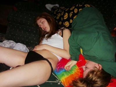 Sexy young redheads having sex
