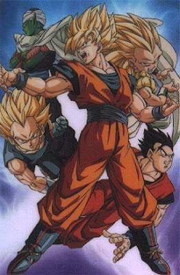 Dragon Ball-Z group battle