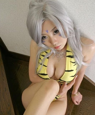 cosplay girl anime costum