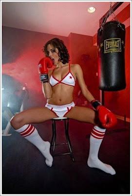 sexy boxer girl wallpaper