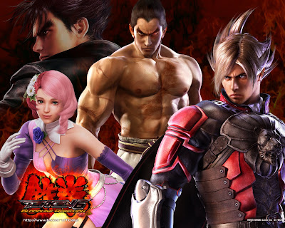 game wallpaper of tekken tag tournament 6