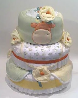 unique baby shower gifts diaper cakes centerpieces