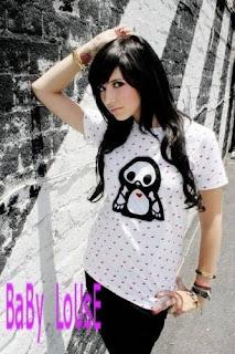 Hairstyle Emo Girl Wallpaper(03)
